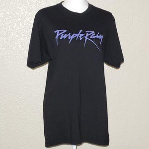 Prince Purple Rain Music Graphic Tee Size L